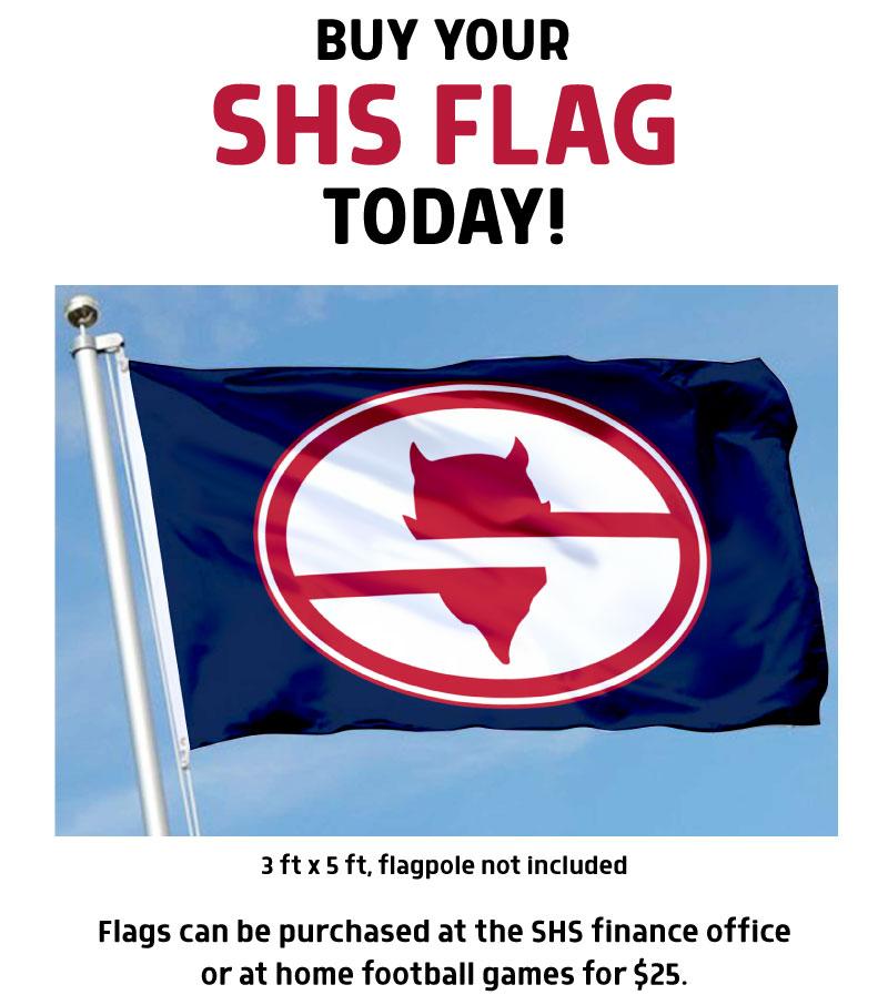 Flag ad
